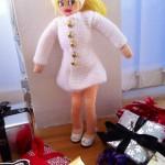 Amy hvid frakke